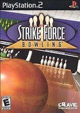 Sony PlayStation 2 PS2 Strike Force Bowling Video Game