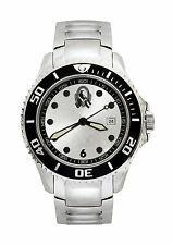 AFL Collingwood Magpies All Stainless Steel Gents Watch FREE SHIPPING