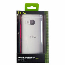 HTC Hard Cover 99H20111-00 HC C1153 for ONE M9, transparent/pink