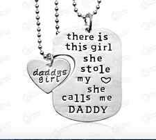 Father Daughter Stole My Heart Calls Me Daddy's Little Girl Necklace New US