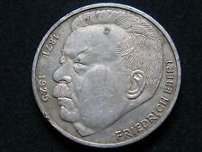 GERMANY , BONITOS 5 MARK DE 1975 . PLATA