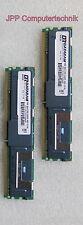 8GB 2x 4GB RAM HP FB DIMM DR Speicher 667 Mhz ECC Fully Buffered DDR2 PC2-5300F