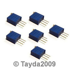 10 x 10K OHM TRIMPOT TRIMMER POTENTIOMETER 3296W 3296 - Free Shipping