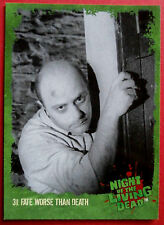NIGHT OF THE LIVING DEAD - 1968 film - Card #31 - Fate Worse Than Death