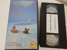 Sailing The 7 Seas Cruising Boating Other Peoples Paradise VHS Tape Captain Bob