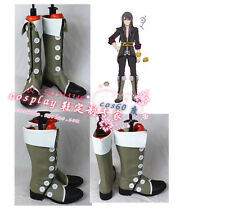 Tales of Vesperia Yuri Lowell Grey Cosplay Shoes Boots S008
