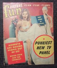 1951 PICTURE FUN Magazine v.1 #1 GD+ 2.5 GORGEOUS GEORGE