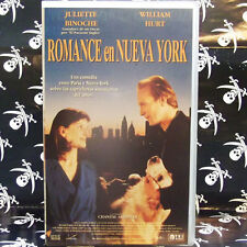 ROMANCE EN NUEVA YORK (Chantal Akerman) VHS . William Hurt, Juliette Binoche, St