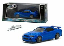 GREENLIGHT 1:43 FAST & FURIOUS - BRIAN'S 2002 NISSAN SKYLINE GT-R Diecast Car