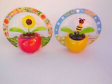 Lots 2 Solar Power Dancing Flip Flap Beetle  Bee
