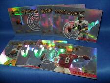 1997 TOPPS FOOTBALL - STADIUM CLUB AERIAL ASSAULT (8) NFL CARDS * BRETT FARVE *