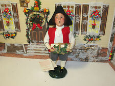 Byers Choice 2002 Williamsburg Colonial Boy with Bundle of Logs