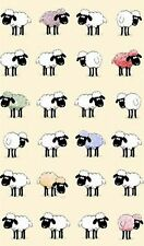 """Sheepish"" 100% Cotton Tea Towel -Fun & Colourful Sheep - Ulster Weavers"