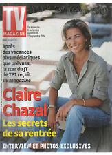 FIGARO TV 04/09/2004 claire chazal sarah biasini