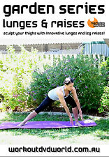 Pilates Barre THIGHS DVD - Barlates Body Blitz GARDEN LUNGES AND RAISES!