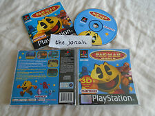 Pac Man World PS1 (COMPLETE) platform classic Sony PlayStation black label