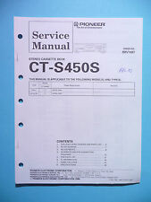 Service Manual für Pioneer CT-S450S,ORIGINAL