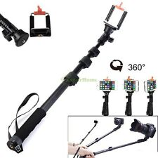 MONOPOD Extendable Self Portrait Selfie Handheld Stick Fr DSLR DV Iphone Samsung