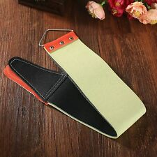 Canvas Leather Sharpening Strop For Barber Razor Knife Shaving Shave Men Gift