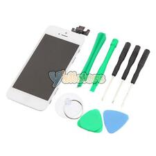 White Home button & LCD Lens Touch Screen Digitizer for iPhone 5 A1428 A1429 &TL