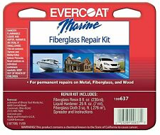 BOAT MARINE FIBERGLASS REPAIR KIT 8oz Permanent Repairs Fiberglass Wood Metal