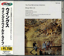 PAUL McCARTNEY WINGS Wild Life +4 JAPAN Early CD 1995 W/Obi TOCP3126 MINT!