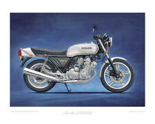Motorcycle Limited Edition Print - Honda CBX1000 Classic Bike Poster Steve Dunn