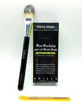 Authentic Shills Black Deep Cleansing Peel Off Mask Nose Black Mask Brush Combo