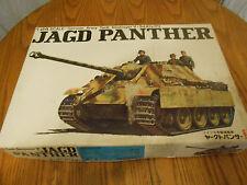 Vintage 1/24 Bandai Jagdpanther model kit