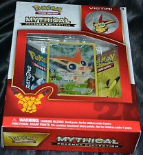 Victini Mythical Pokemon Collection Box Trading Cards Game Booster Pack NEW
