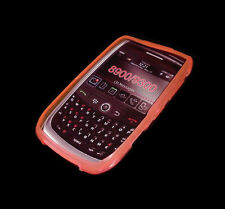 LOT OF 2 NEW CLEAR PINK BLACKBERRY CURVE 8900 9300 SOFT PLASTIC CASES