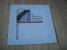 ORCHESTRAL MANOEUVRES IN THE DARK - ARCHITECTURE...(DINDISC)  WITH INNER SLEEVE