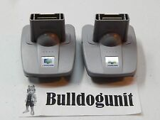 Lot of 2 Nintendo 64 Official Transfer Pak OEM Pack Adapter