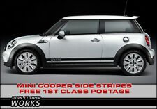 BMW Mini Side Stripes John Cooper Works Style, S, Premium Vinyl JCW Graphic