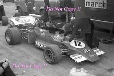 Ronnie Peterson STP March 721G French Grand Prix 1972 Photograph 5