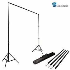 LimoStudio Photo Video Studio 10Ft Adjustable Muslin Background Backdro(AGG1112)