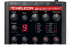 TC Helicon VoiceTone Harmony G XT Vocal Effects Processor Play Pedal Singer NEW
