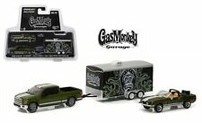 GREENLIGHT 1/64 GAS MONKEY GARAGE 1968 SHELBY GT500KR 2015 FORD F-150 31010 A