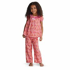 American Girl CL BITTY BABY PINK PAISLEY PJ'S SIZE S (3) for Girls NEW