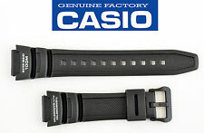 Casio SGW-300H SGW-400H ALTIMETER BAROMETER Black Rubber Watch Band Strap