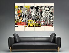 TARANTINO Pulp Fiction Reservoir Kill Bill Poster Grand format A0  pulp fict