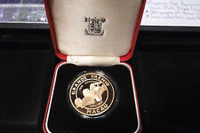 1988 MACAO 500 PATACAS 25th ANNIVERSARY GRAND PRIX BRONZE UNIFACE PROOF PATTERN