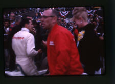 1966 Mario Andretti Winner's Circle - USAC Trenton 200 - Vintage 35mm Race Slide