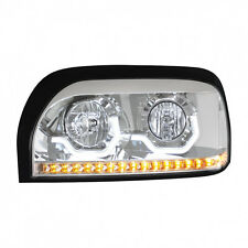 Freightliner Century Chrome Projection LED Headlight - Driver Side