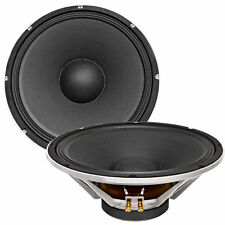 "Seismic Audio New PAIR 15"" PA/DJ Raw Replacement Woofer/Speaker 500 W"