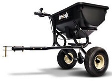 Fertilizer Hitch Spreader 85 lbs Tow Broadcast Tractor Plant Seeder Garden Yard