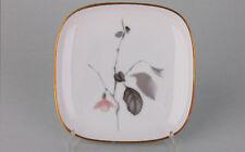 Kleine Porzellan-Schale mit Blüte Rosenthal, 1950er Jahre