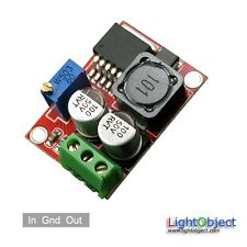 LM2596 power module (step down) Input 5V~40V Output 3.5~33V. Ideal for solar pan