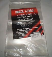 Image Guard Comic Bag Resealable - Silver Age (100 Pack)