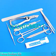 Home Podiatry Kit, Foot, Toe Nail, Care, Treatment, Stainless Steel